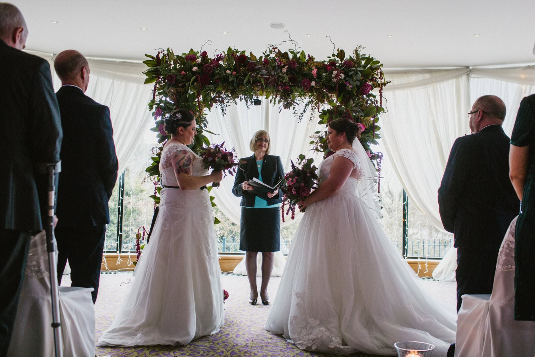 two brides wedding photography northern ireland