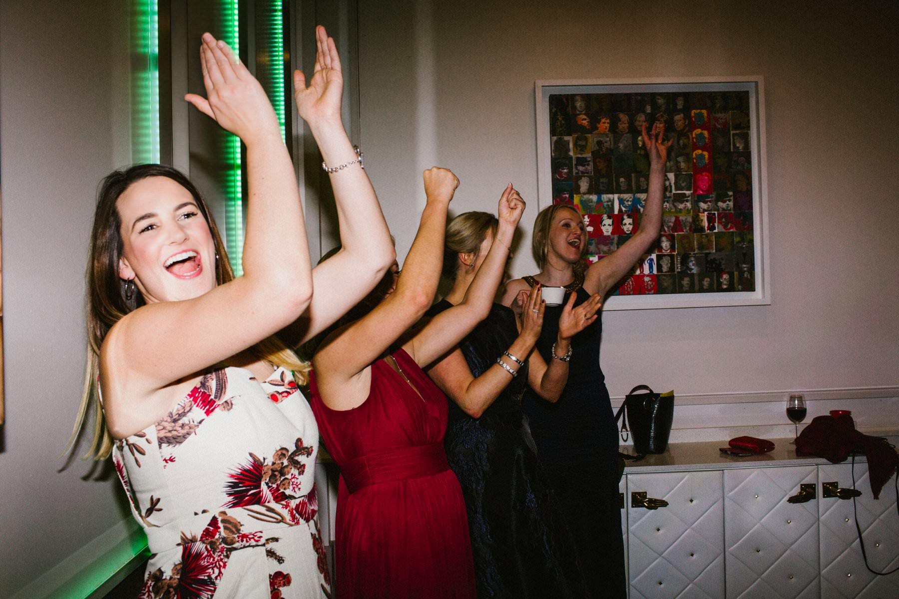 wedding photography including beer pong
