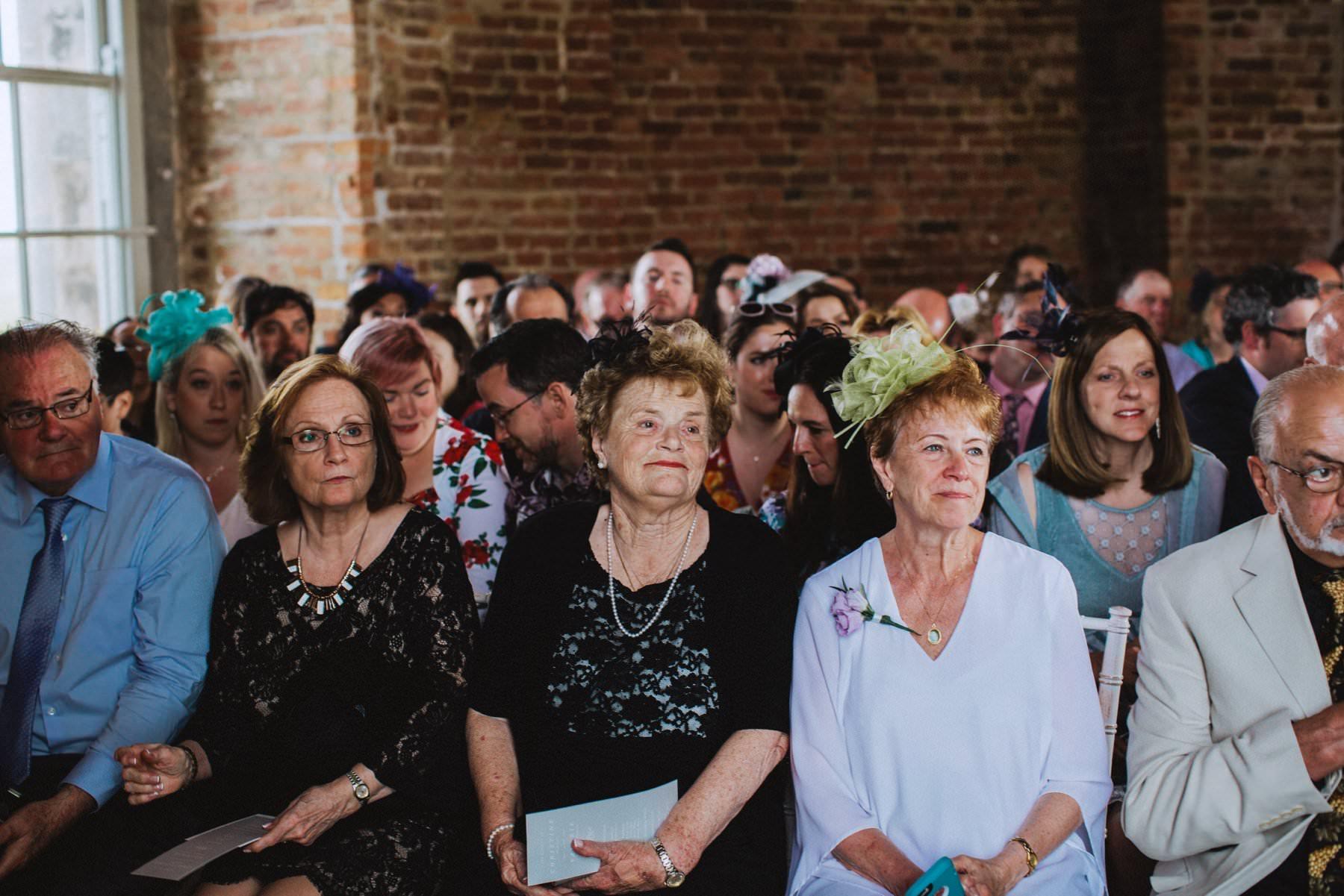 unique wedding ceremony at mussenden temple northern ireland
