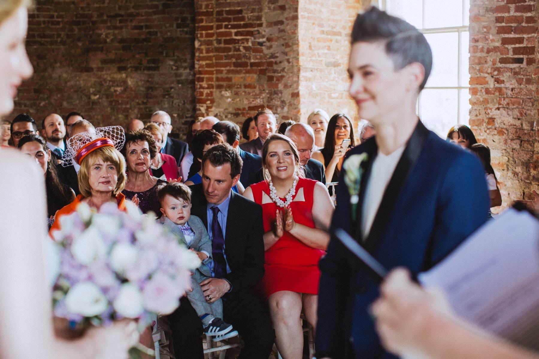 same sex wedding at mussenden temple northern ireland