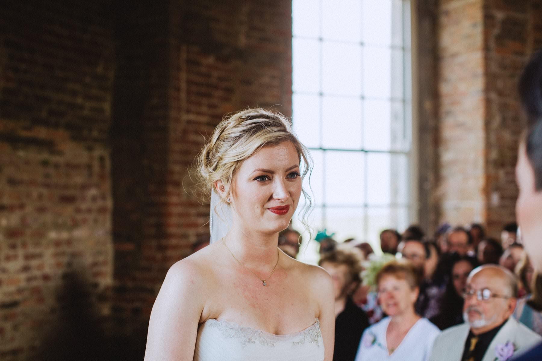 lgbt wedding ceremony at mussenden temple northern ireland