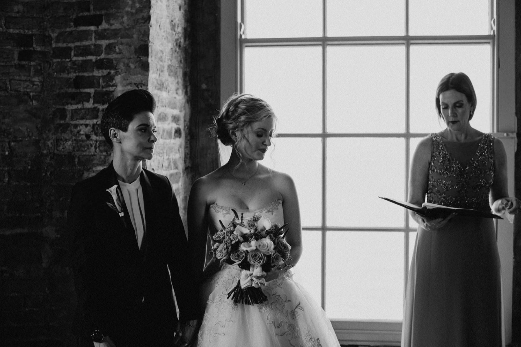 gay wedding ceremony at mussenden temple northern ireland