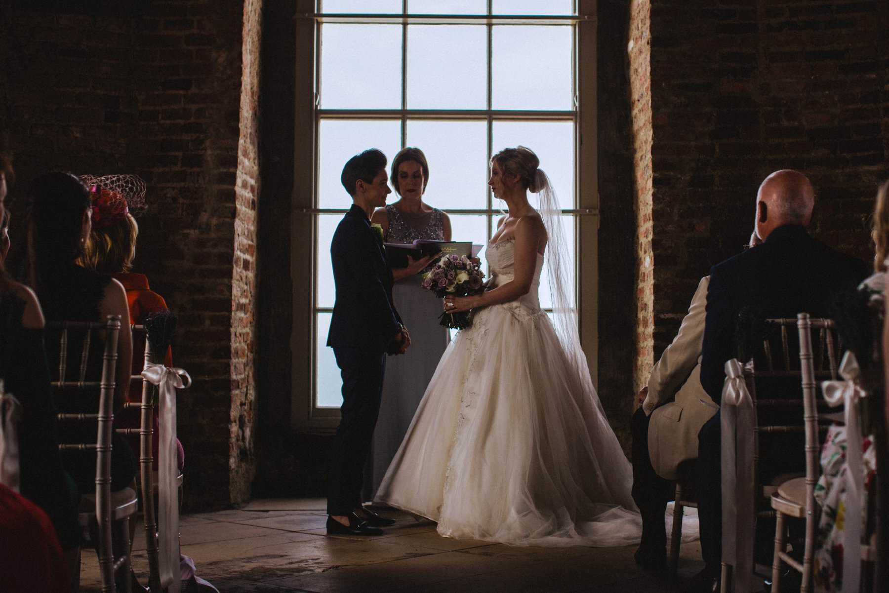 gay wedding photographer mussenden temple northern ireland