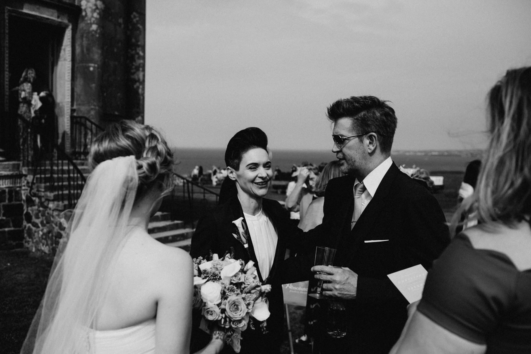 gay wedding photography mussenden temple northern ireland