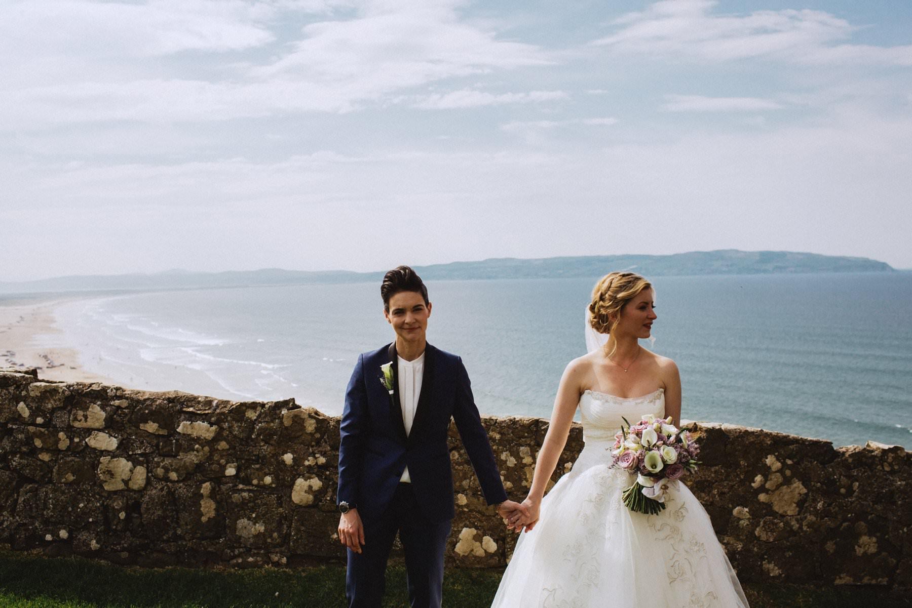 butch femme wedding photography ireland