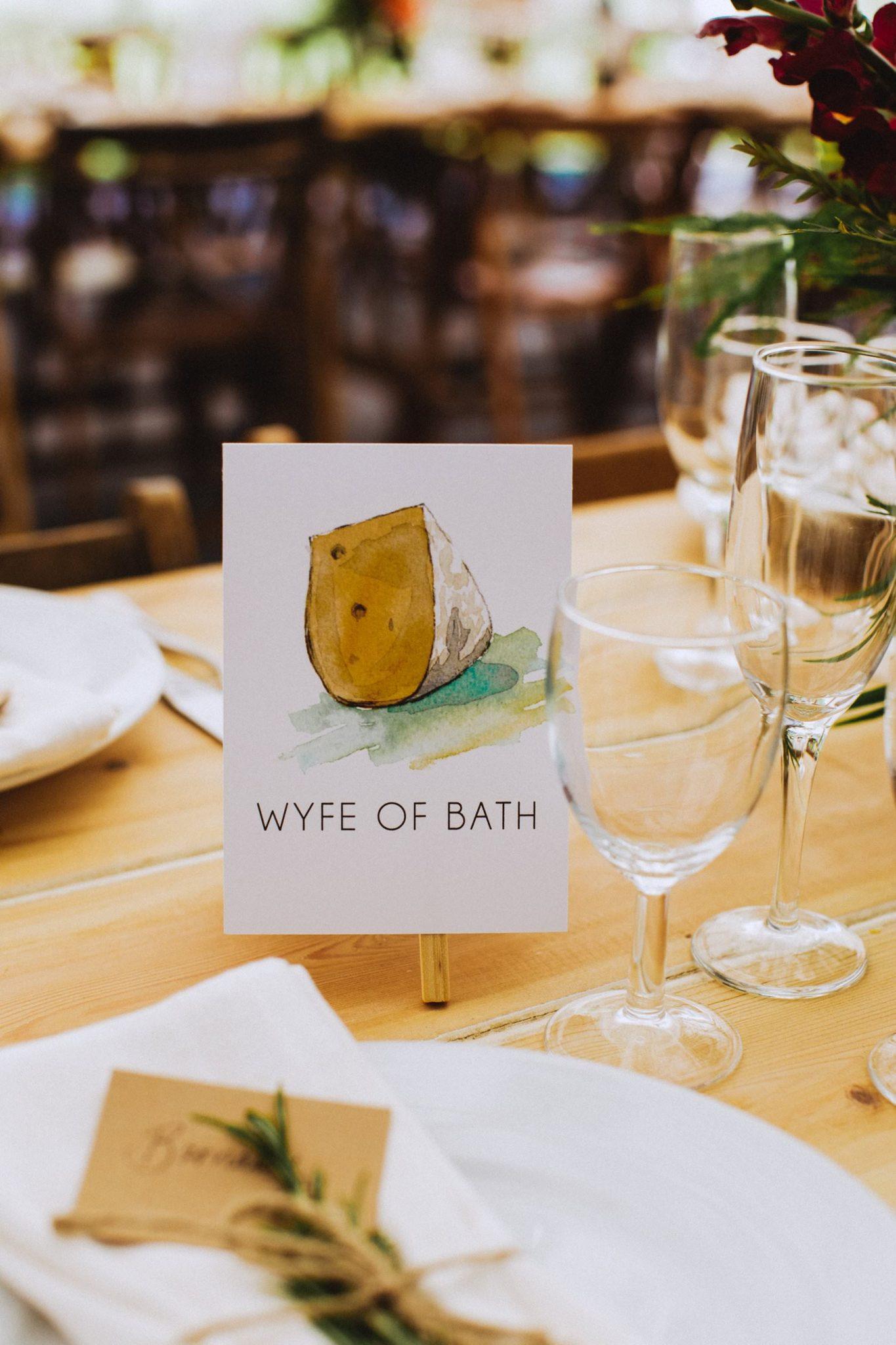 alternative ideas for table plans