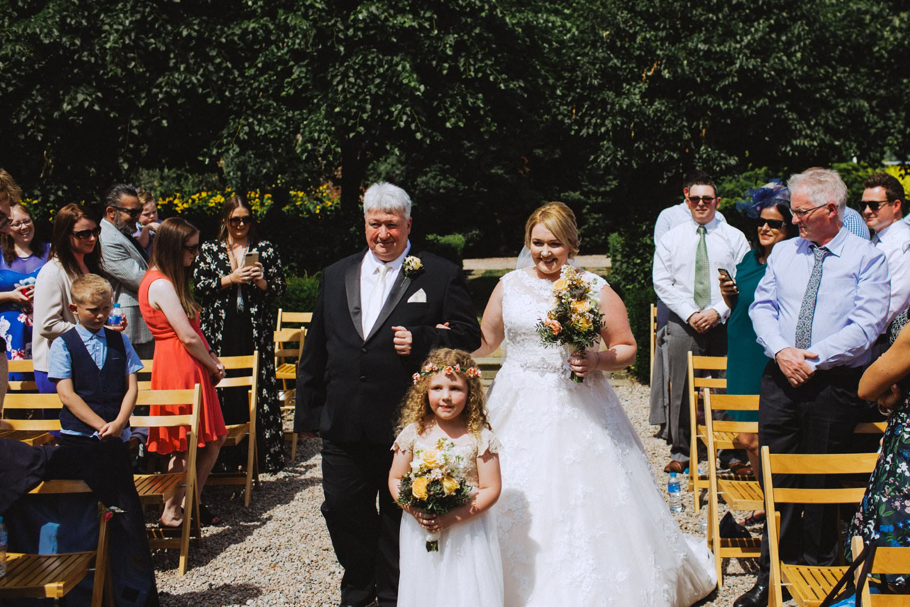 austrialian bride in northern ireland wedding venue larchfield estate