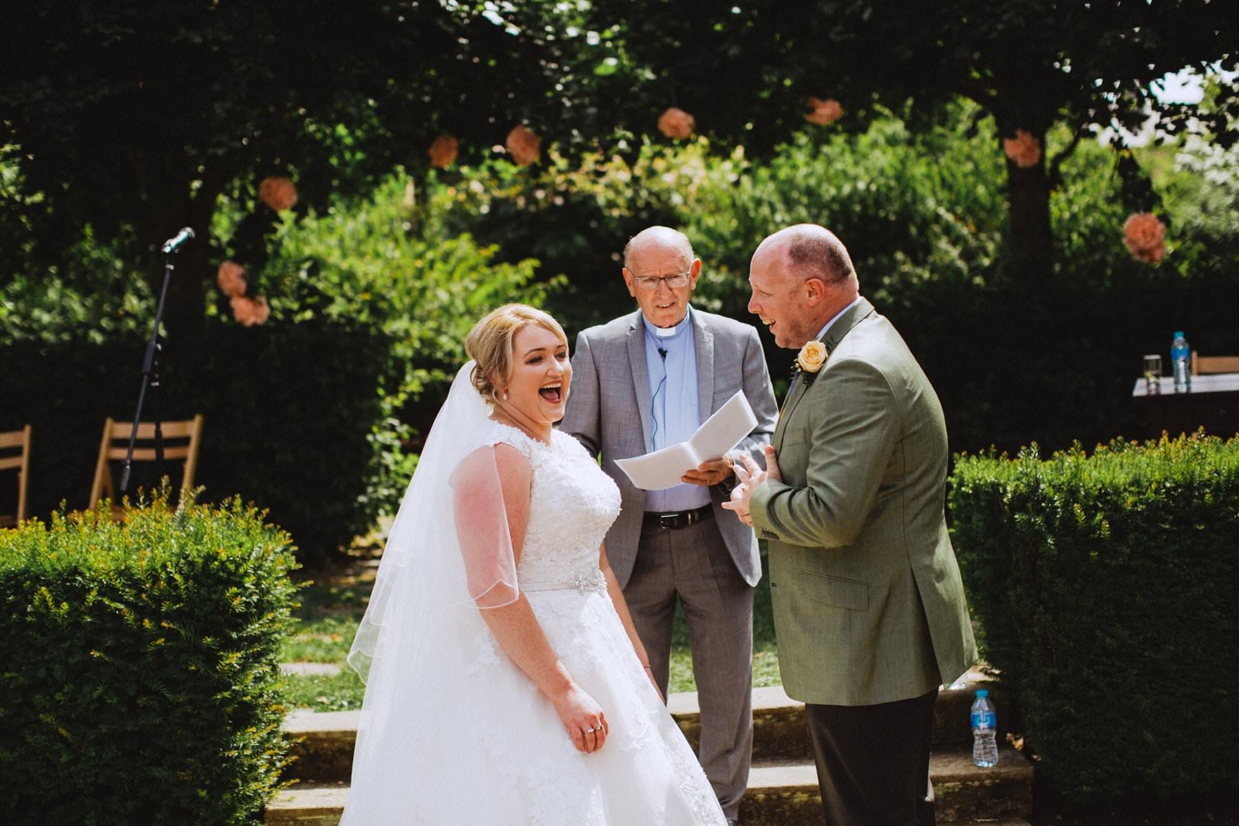 wedding photography at larchfield estate