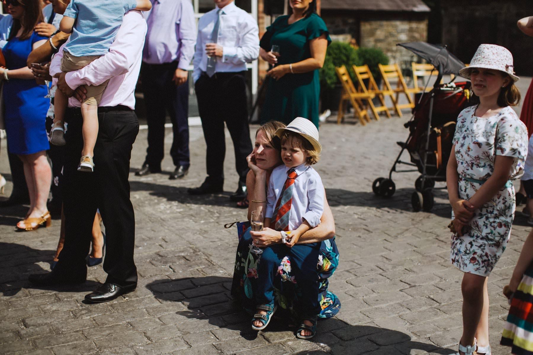 cute kids at weddings northern ireland