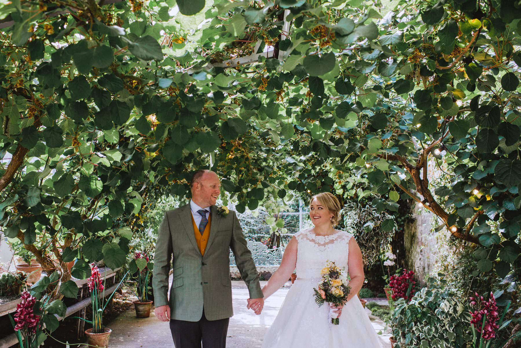 wedding portraits at larchfield estate