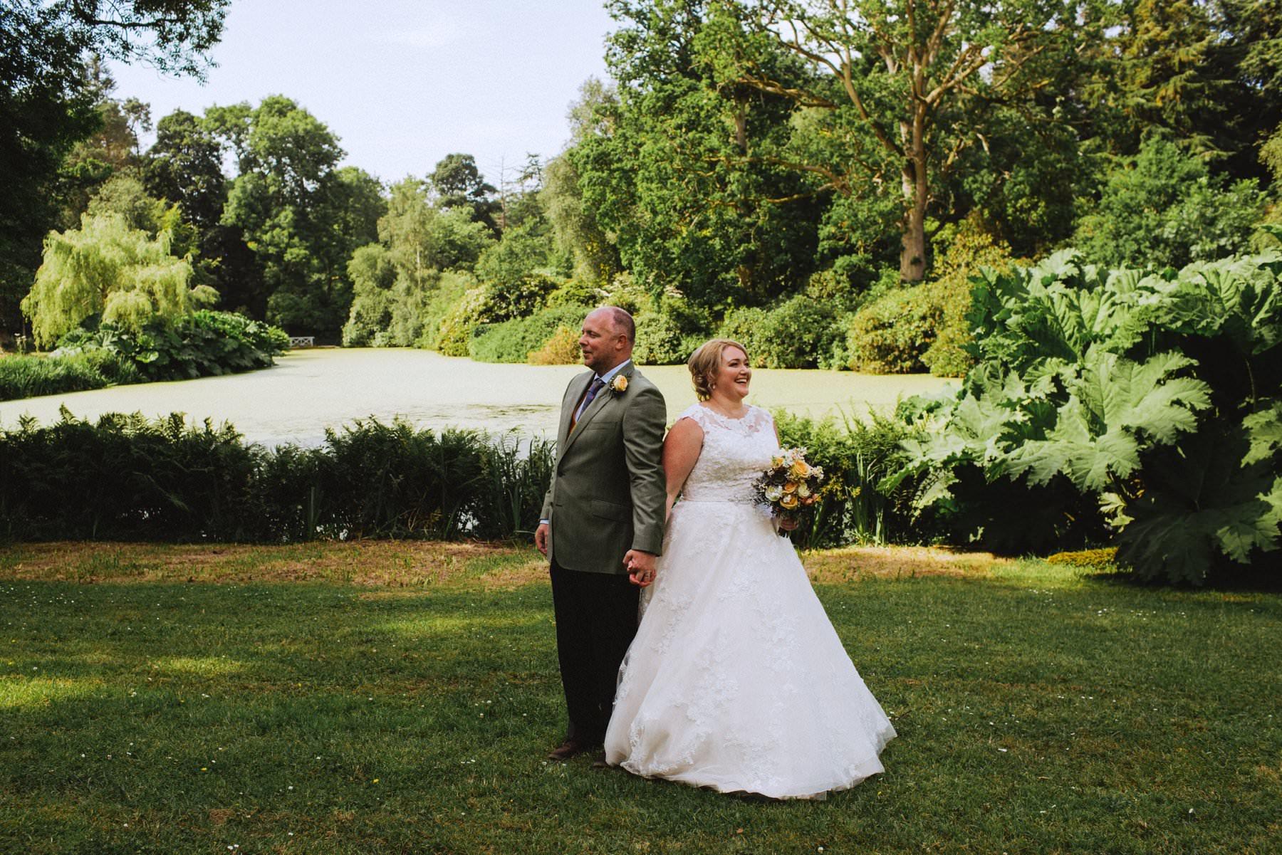 alternative wedding portraits at larchfield northern ireland