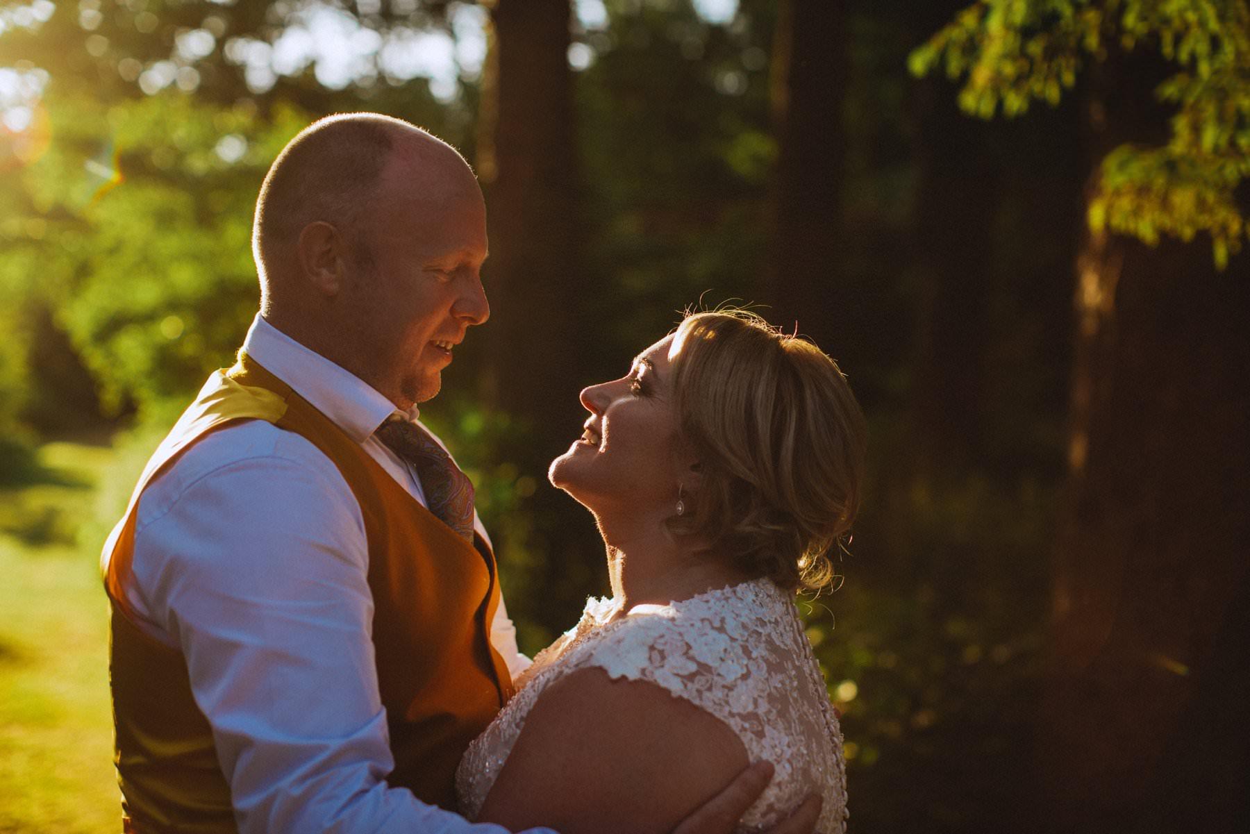 sunset wedding photography northern ireland